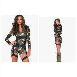Airborne Goin Commando Costume